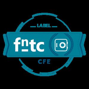 label CFE de la fntc-web